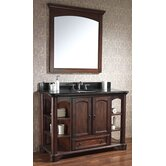 "Vermont 49"" Bathroom Vanity in Mahogany"