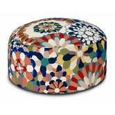Vevey Cylindrical Pouf Ottoman
