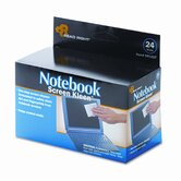 Read Right Notebook Screenkleen Pads, Cloth, 2 1/2 X 5 1/4, 24/Box