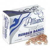 Sterling Ergonomically Correct Rubber Bands, #8, 7/8 X 1/16, 7100 Bands/1 Lb Box