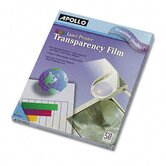 Color Laser Printer/Copier Transparency Film, Letter, 50/Box