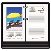 Full-Color Photographic Daily Desk Calendar Refill, 3-1/2w x 6h, 2013