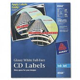 Inkjet Full-Face Cd Labels (20/Pack)