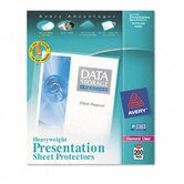 Top-Load Poly Sheet Protectors, Heavyweight, Ltr, Diamond Clear, 200/box