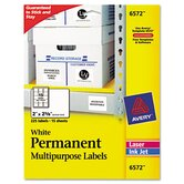 Permanent Id Laser Labels, 225/Pack