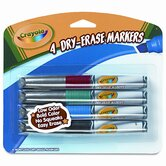 Dry Erase Chisel Tip Markers (4/Set)