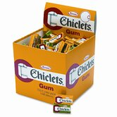 Chiclets Chewing Gum (2 Pieces/Pack, 200 Packs/Box)