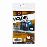 Self-Adhesive Label Holders for Binders, 3/4 x 3, Clear, 8 per Pack