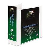 "Aurora Products Earthview D-Ring Presentation Binder, 3"" Capacity"