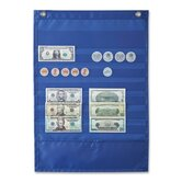 Deluxe Money Pocket Chart, 12&quot;x17&quot;, Multi Colored