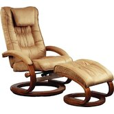 82 Series Ergonomic Recliner and Ottoman