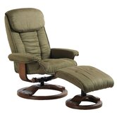 7151 Ergonomic Recliner and Ottoman