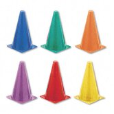 Indoor/Outdoor Flexible Cone Set, Vinyl ( Set of 6)