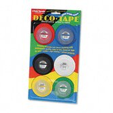 "Chartpak Deco Bright Decorative Tape,0.12"" x 324"", 6/Box"