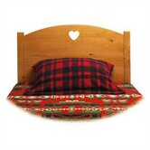 Traditional Heart Twin Panel Headboard