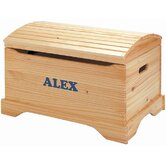 Personalized Captain's Chest Toy Box