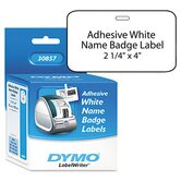 Self-Adhesive Name Badge Labels, 250/Box
