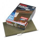 Ready-Tab Reinforced Hanging Folders, 1/5 Tab, Legal, 25/Box