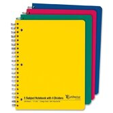 5-Subject College Ruled Notebook
