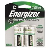 E2 Nimh Rechargeable Batteries, C, 2 Batteries/Pack