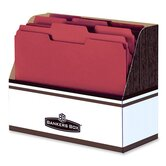 Folder Holder,w/ Handle Hole, Letter Size, 12&quot;x5-1/2&quot;x9-5/8&quot;