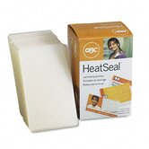 HeatSeal LongLife Premium Laminating Pouches, 10mm, 2-3/16 x 3-11/16, 100/box