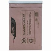 Caremail Rugged Padded Mailer, Side Seam, 10 1/2 x 14 3/4, Light Brown, 25/pack