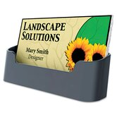Recycled Business Card Holder, Holds 50