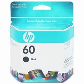 CC640WN (HP60) Inkjet Cartridge, Black