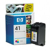51641A (HP41) Inkjet Cartridge, Tri-Color (Cyan, Magenta, Yellow)