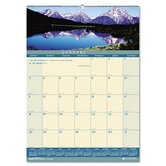 Landscapes Monthly Wall Calendar, 12 x 16-1/2, 2013