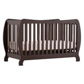 Monza II Fixed Side Convertible Crib in Espresso