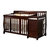 Portofino Fixed Side 4-in-1 Convertible Crib Changer