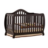 Monza Fixed Side 2-in-1 Convertible Crib