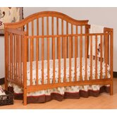 Ravena Fixed Side Convertible Crib in Oak