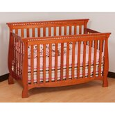 Venetian 4 in 1 Fixed Side Convertible Crib in Cognac