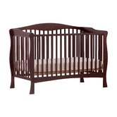 Savona Fixed Side Convertible Crib in Cherry