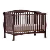 Savona Fixed Side Convertible Crib in Espresso