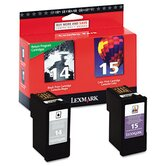 (14, 15) Ink Cartridge, 2/Pack