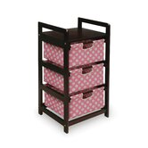 Three Drawer Hamper/Storage Unit