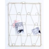 Antique Wire  Memory Board in Cream
