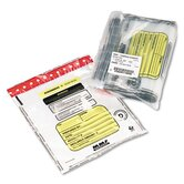 Tamper-Evident Deposit/Cash Bags, 100 Bags/Box