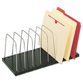 Steelmaster Wire Desktop Organizer, Eight Sections