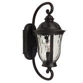 Frances Outdoor Small Wall Mount Lantern in Oiled Bronze