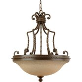 Riata 3 Light Inverted Pendant