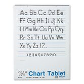 Chart Tablet with Manuscript Cover, Ruled, 25 Sheets/Pad