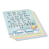 Chart Tablet, 25 Sheets/Pad