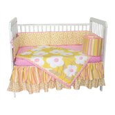 Field of Flowers Bedding Collection in Yellow and Pink
