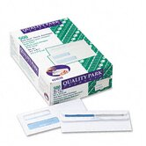 Double Window Tinted Redi-Seal Invoice and Check Envelope, #8, White, 500/box