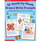 50 Month-by-month Draw & Write